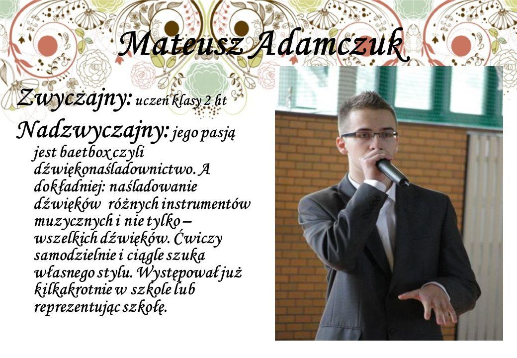 Mateusz Adamczuk