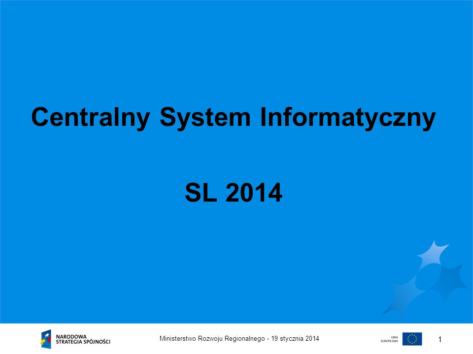 Centralny System Informatyczny