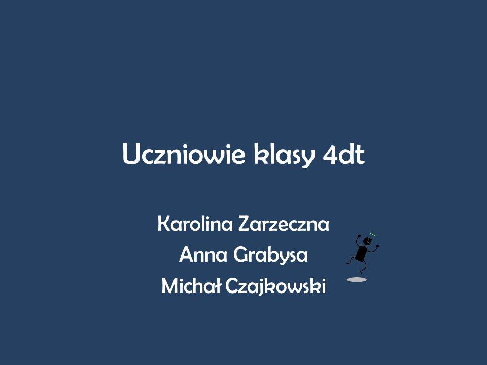 Karolina Zarzeczna Anna Grabysa Michał Czajkowski