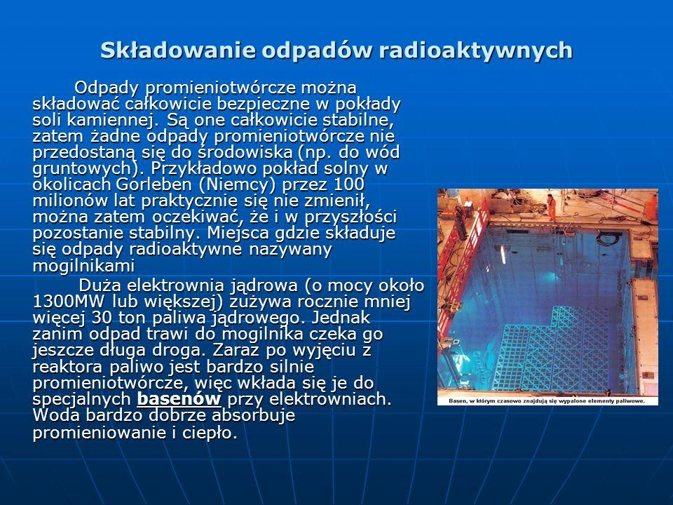 Składowanie odpadów radioaktywnych