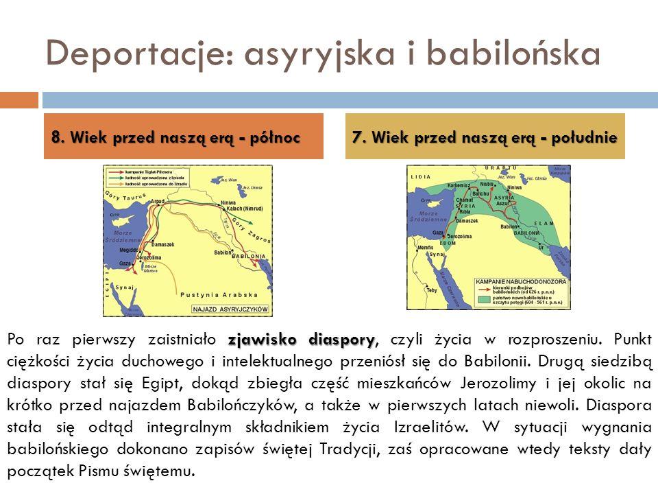 Deportacje: asyryjska i babilońska