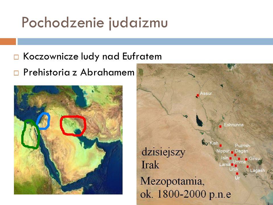 Pochodzenie judaizmu Koczownicze ludy nad Eufratem