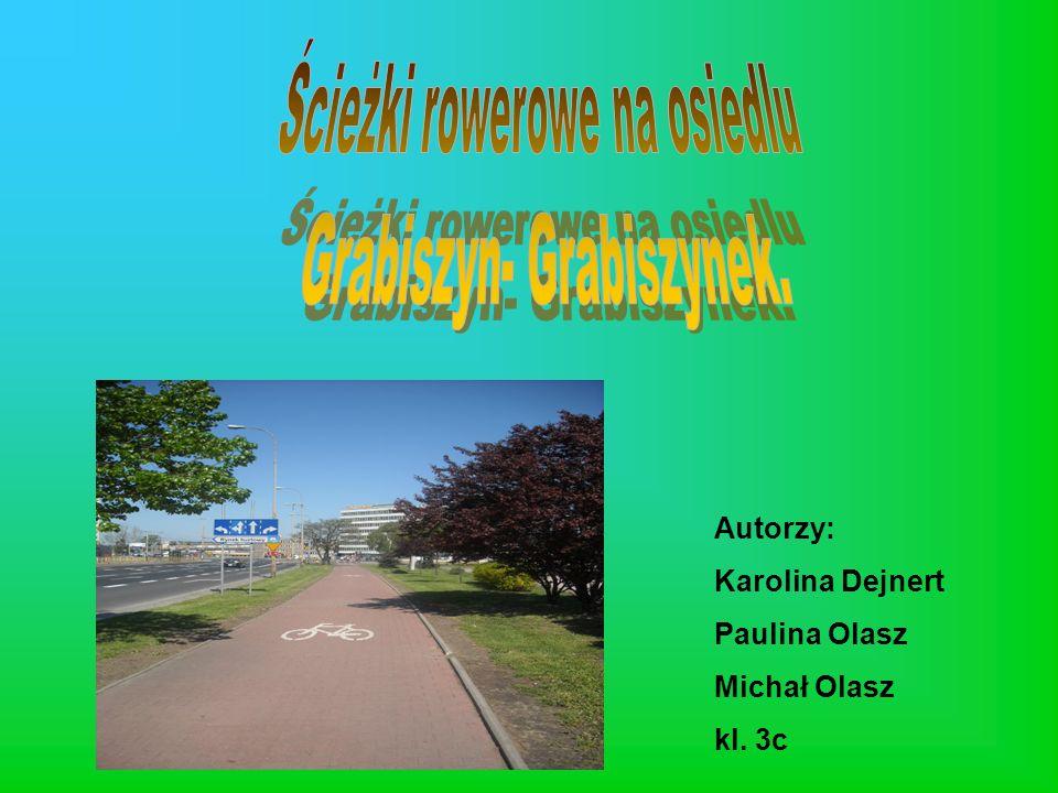 Ścieżki rowerowe na osiedlu Grabiszyn- Grabiszynek.