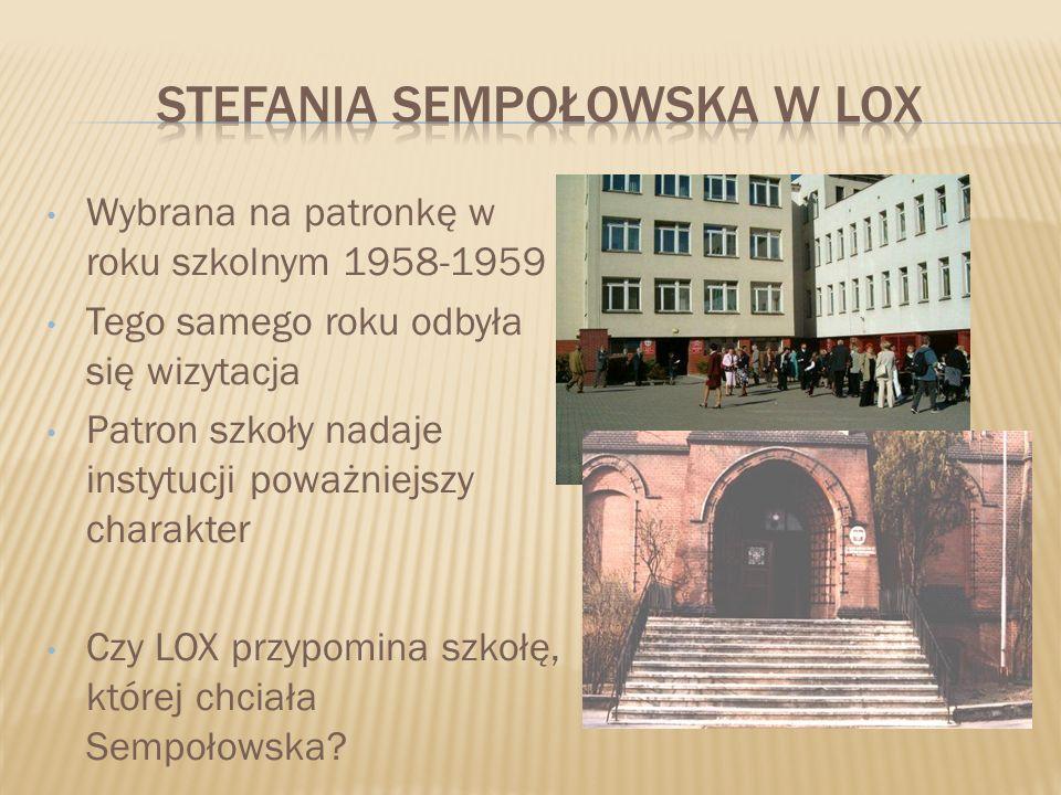 STEFANIA SEMPOŁOWSKA W LOX