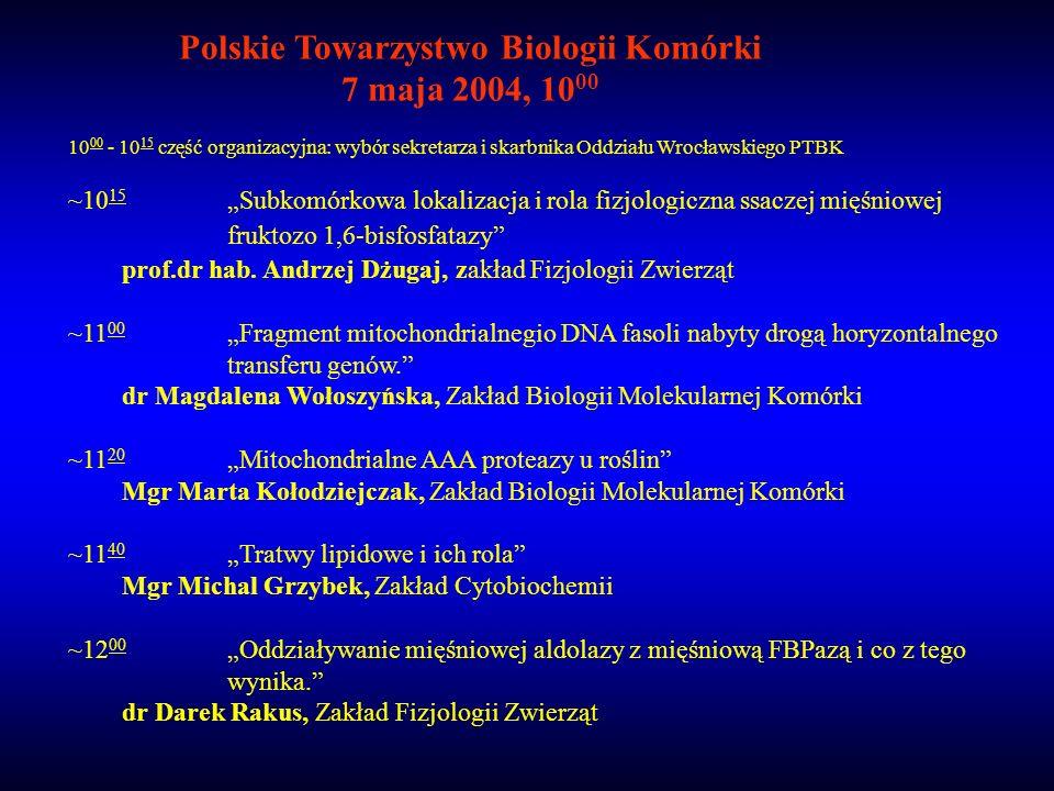 Polskie Towarzystwo Biologii Komórki