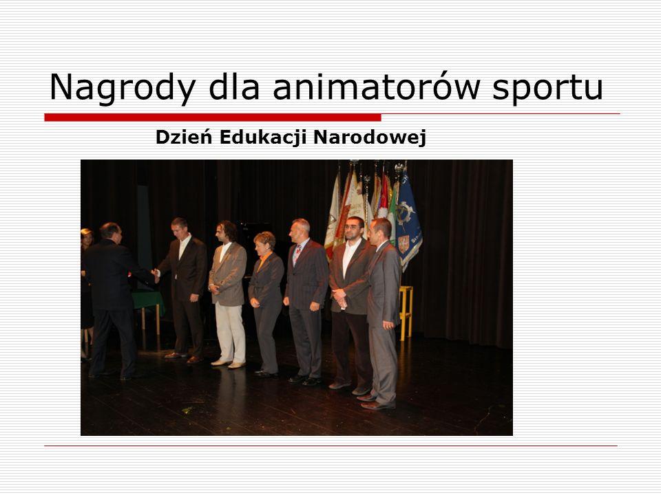 Nagrody dla animatorów sportu