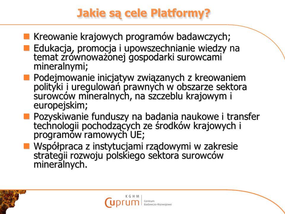 Jakie są cele Platformy
