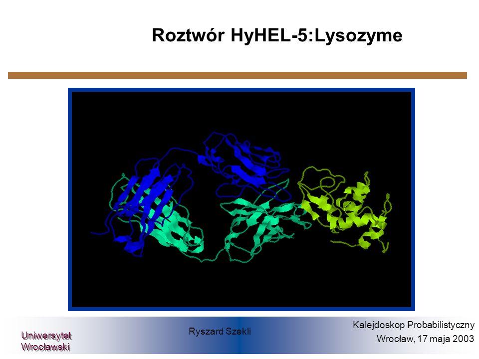 Roztwór HyHEL-5:Lysozyme