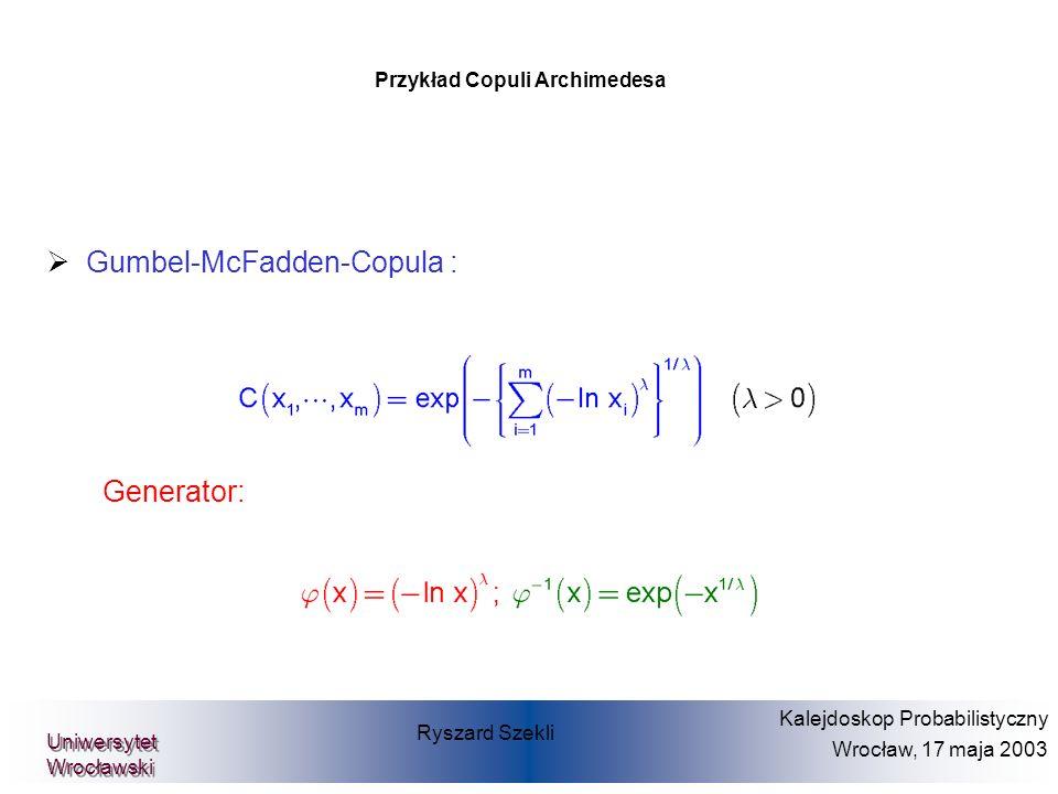 Przykład Copuli Archimedesa