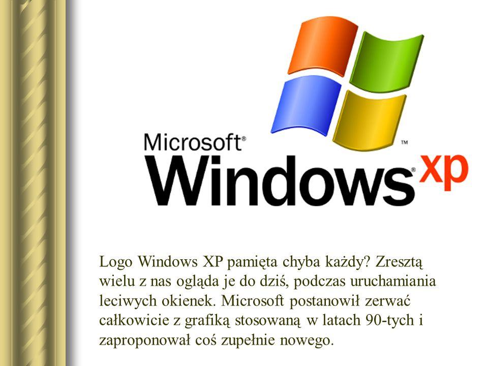 Logo Windows XP pamięta chyba każdy