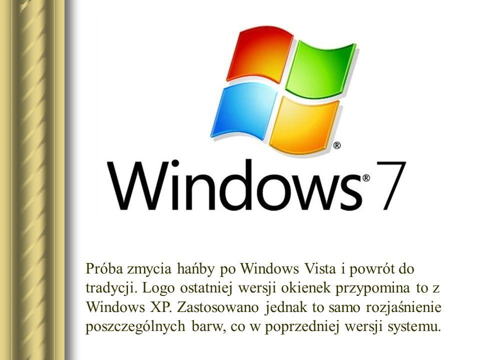 Próba zmycia hańby po Windows Vista i powrót do tradycji