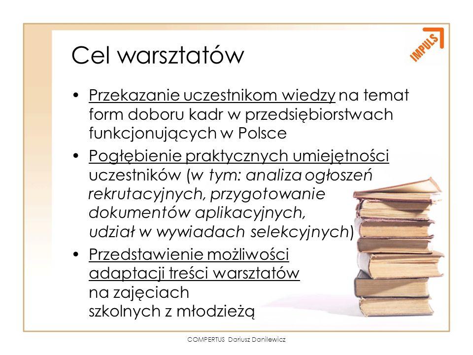 COMPERTUS Dariusz Danilewicz
