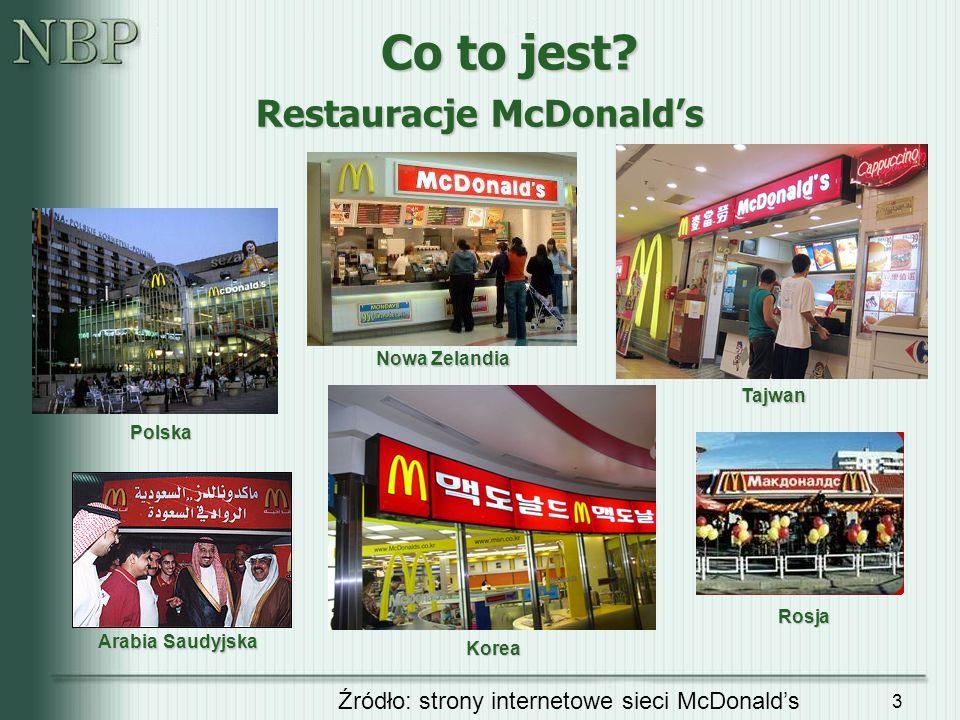 Restauracje McDonald's