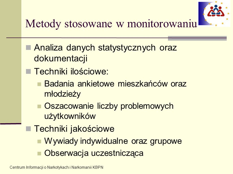 Metody stosowane w monitorowaniu