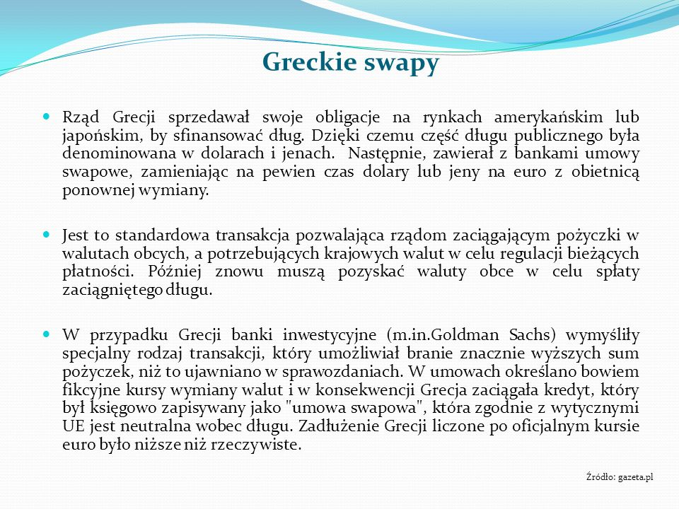 Greckie swapy