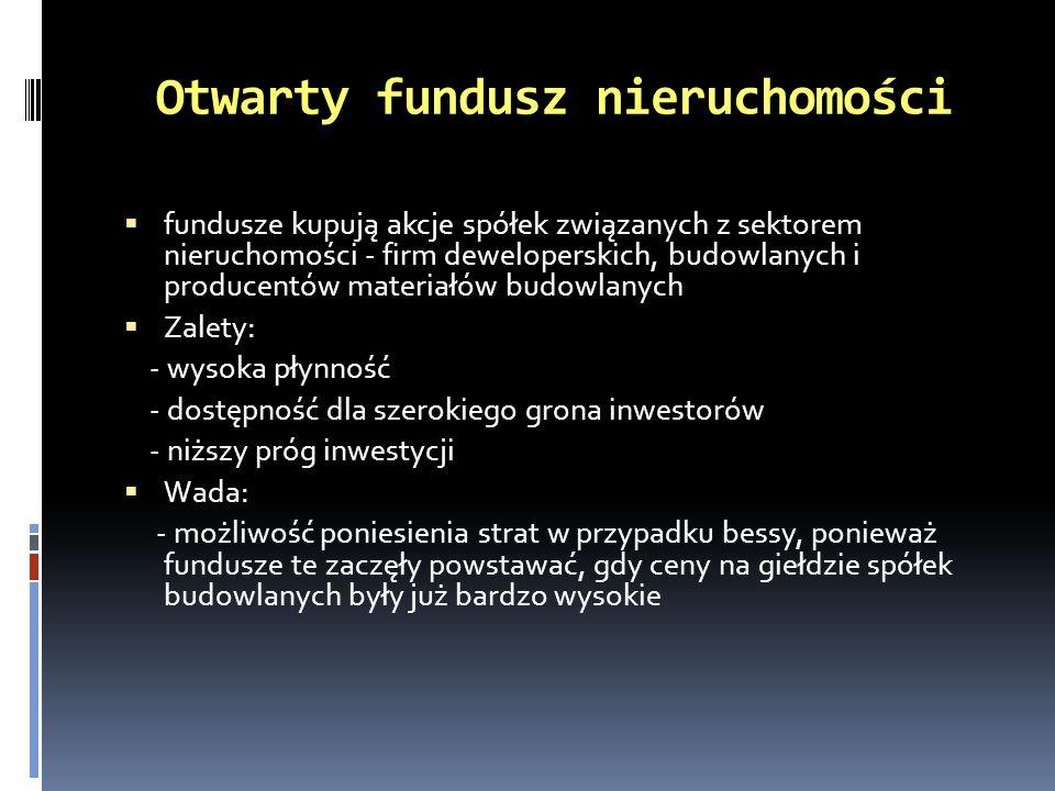 Otwarty fundusz nieruchomości
