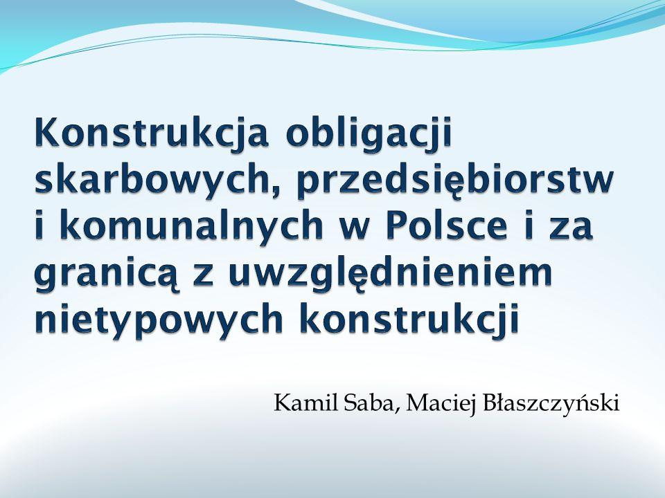 Kamil Saba, Maciej Błaszczyński