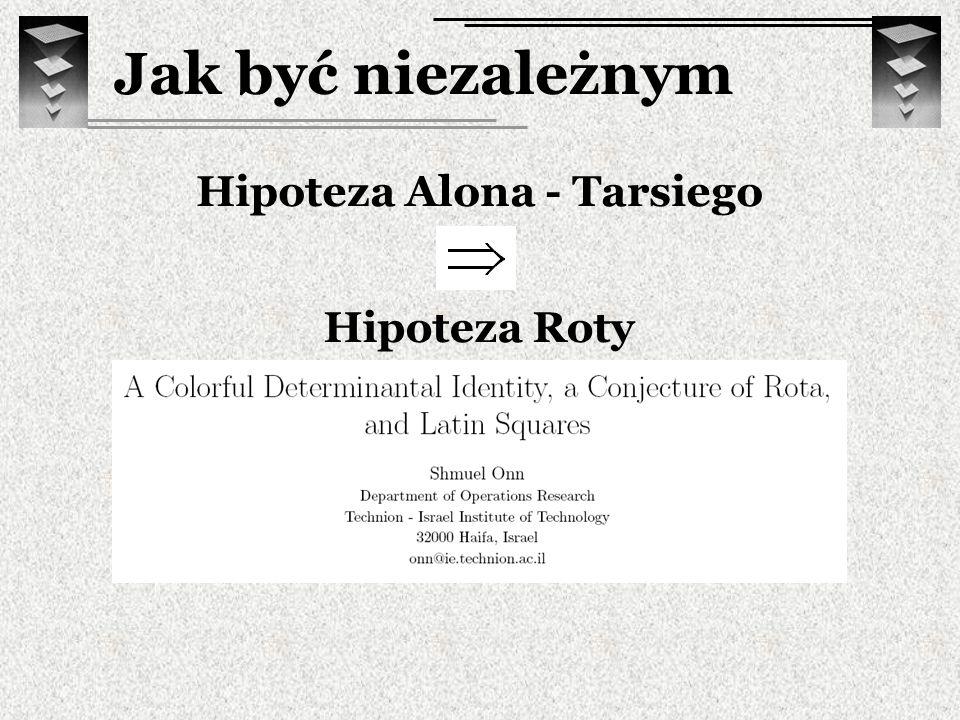 Hipoteza Alona - Tarsiego