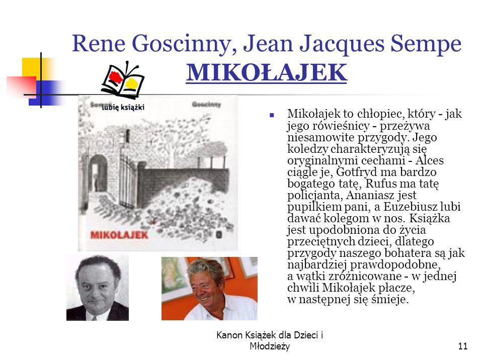Rene Goscinny, Jean Jacques Sempe MIKOŁAJEK