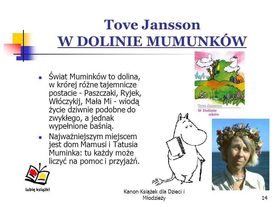 Tove Jansson W DOLINIE MUMUNKÓW