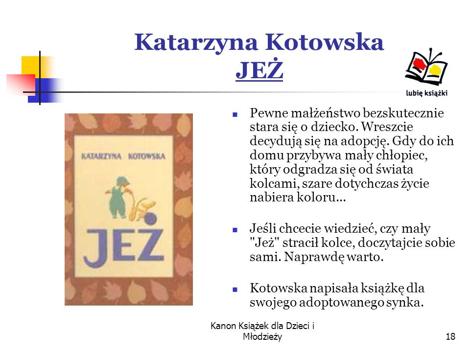 Katarzyna Kotowska JEŻ