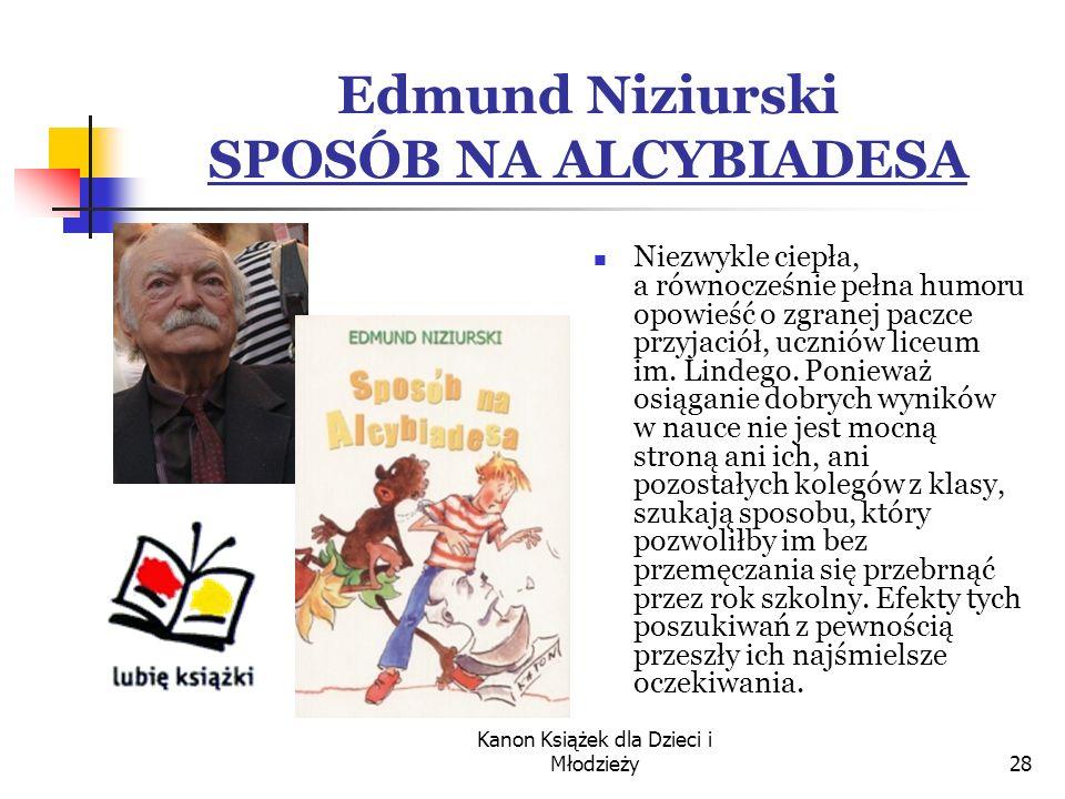 Edmund Niziurski SPOSÓB NA ALCYBIADESA