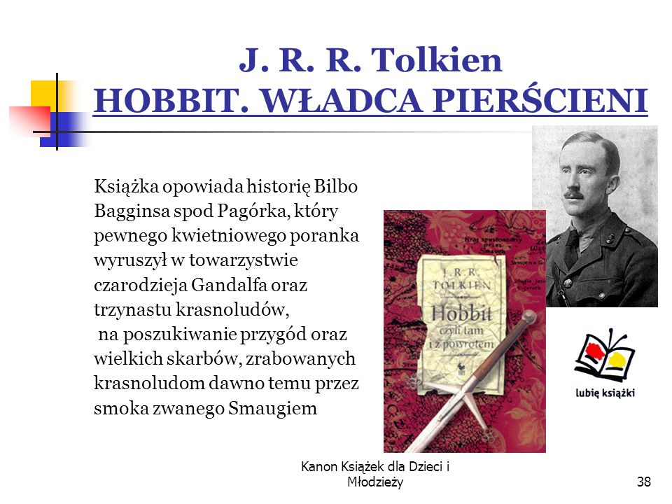 J. R. R. Tolkien HOBBIT. WŁADCA PIERŚCIENI