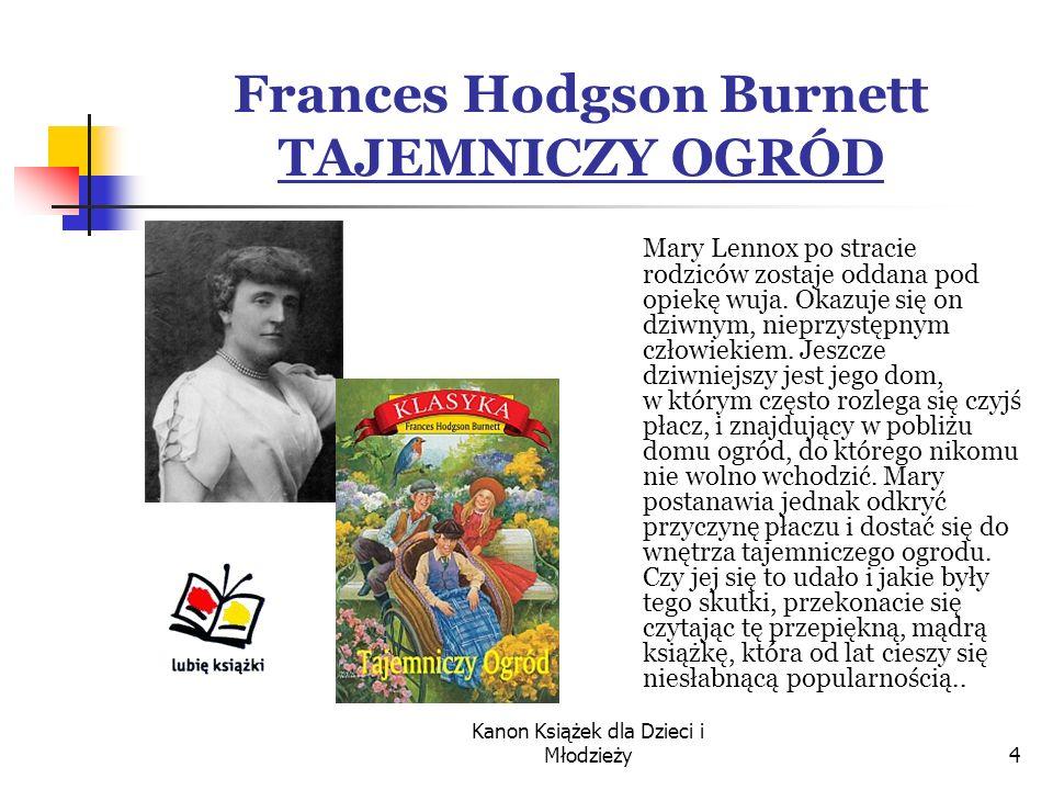 Frances Hodgson Burnett TAJEMNICZY OGRÓD