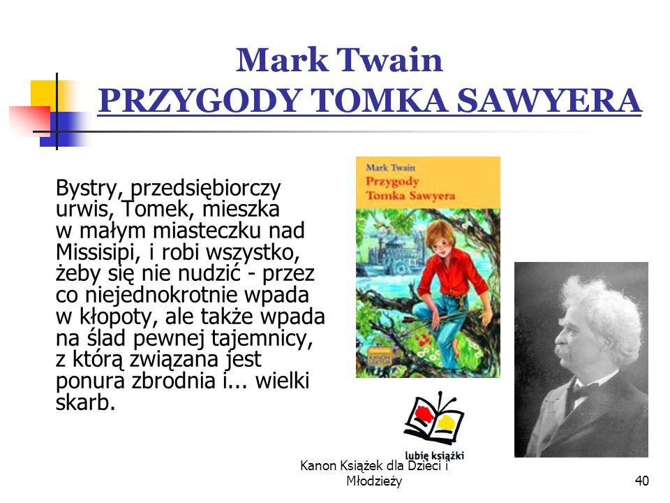 Mark Twain PRZYGODY TOMKA SAWYERA
