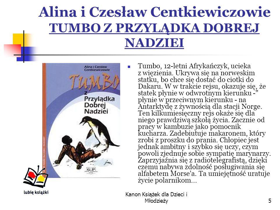 Alina i Czesław Centkiewiczowie TUMBO Z PRZYLĄDKA DOBREJ NADZIEI