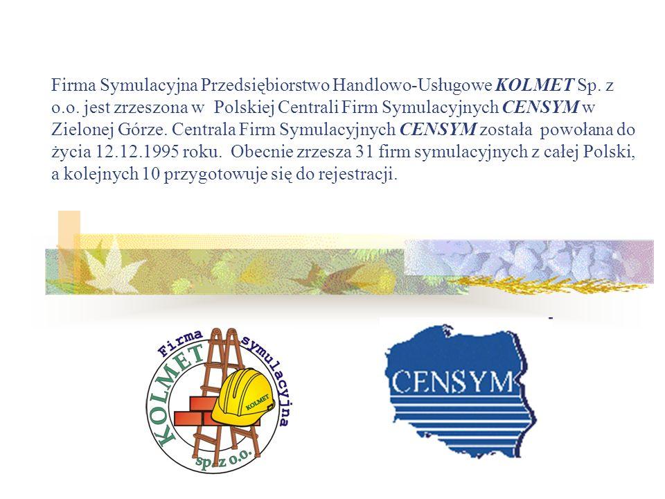 Firma Symulacyjna Przedsiębiorstwo Handlowo-Usługowe KOLMET Sp. z o. o