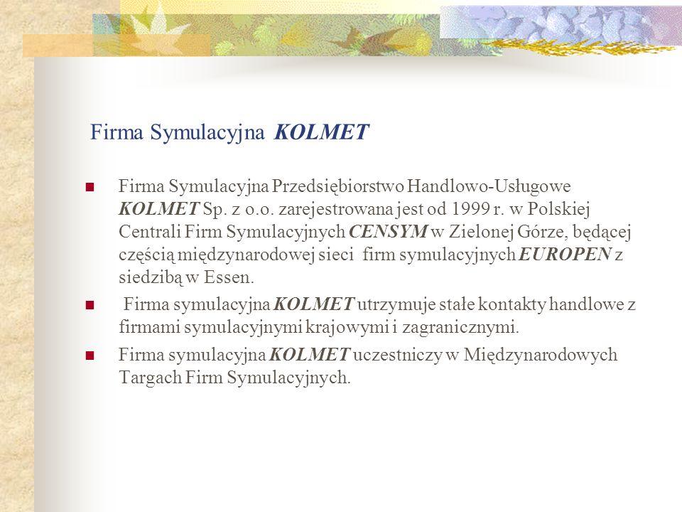 Firma Symulacyjna KOLMET