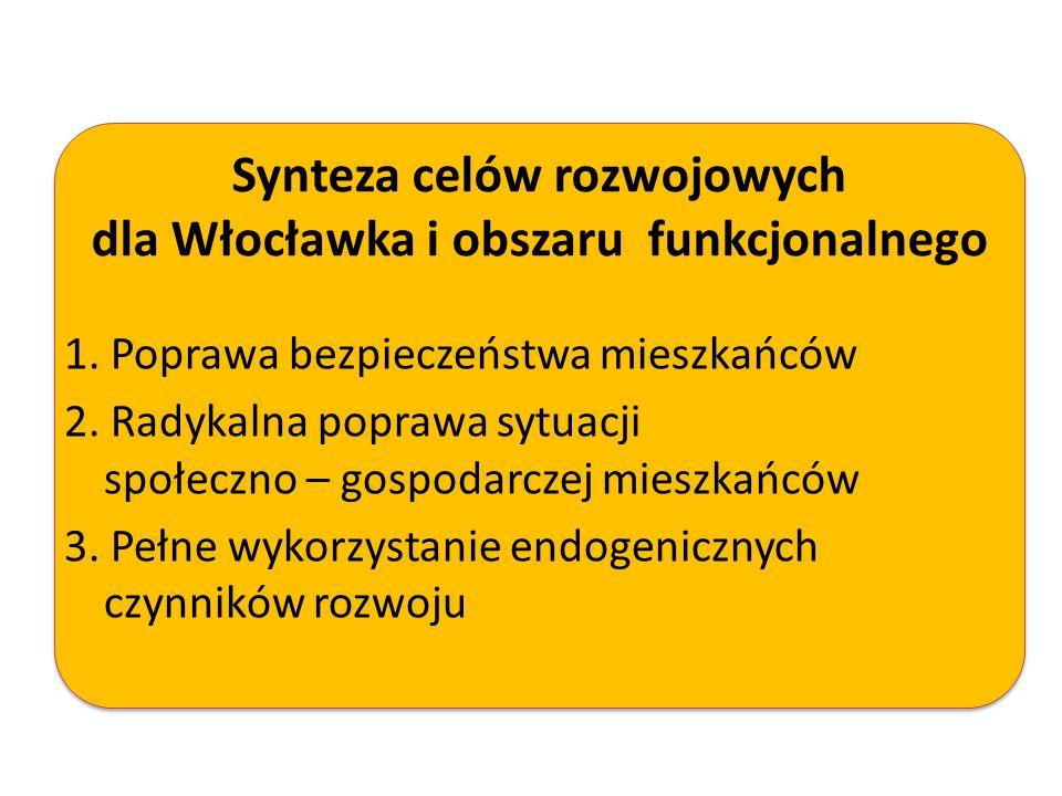 Synteza celów rozwojowych dla Włocławka i obszaru funkcjonalnego