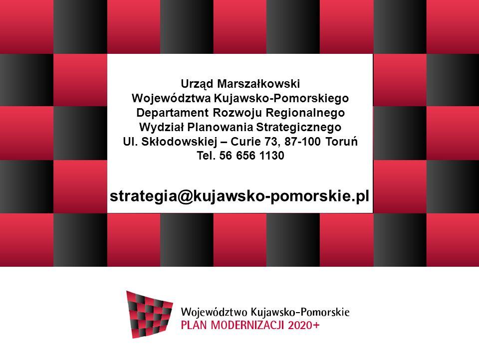 strategia@kujawsko-pomorskie.pl Urząd Marszałkowski
