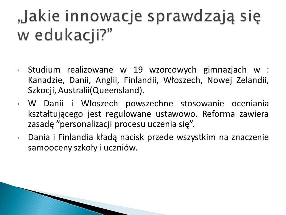 """""""Jakie innowacje sprawdzają się w edukacji"""