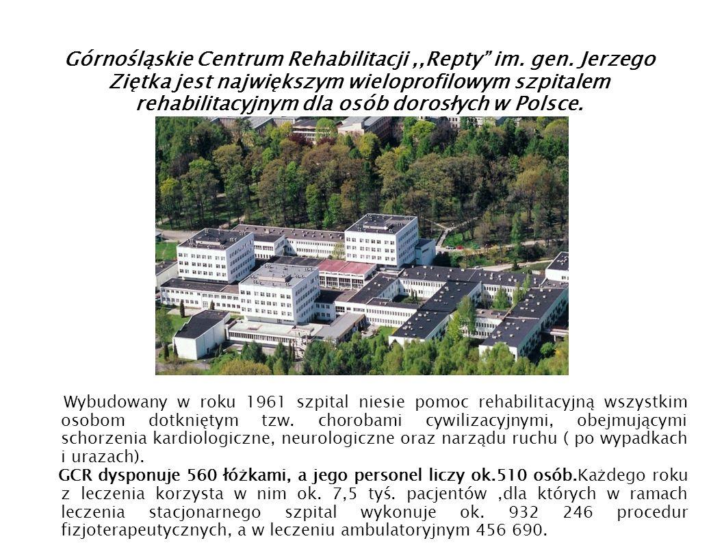 Górnośląskie Centrum Rehabilitacji ,,Repty im. gen