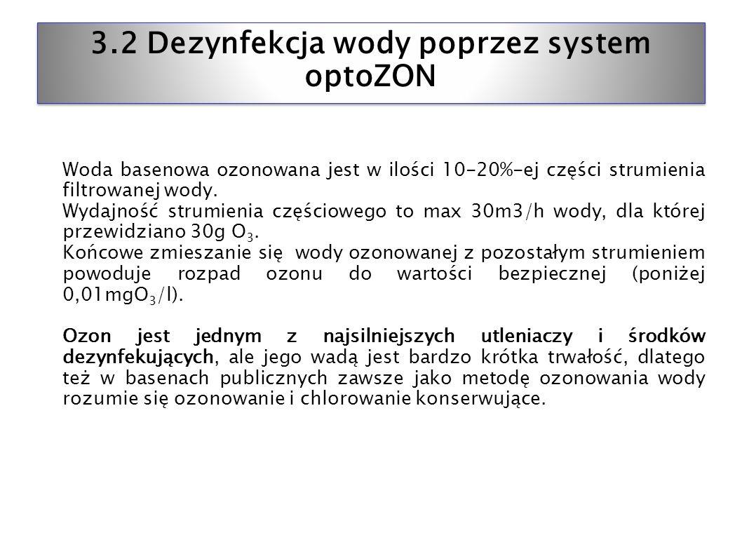 3.2 Dezynfekcja wody poprzez system optoZON