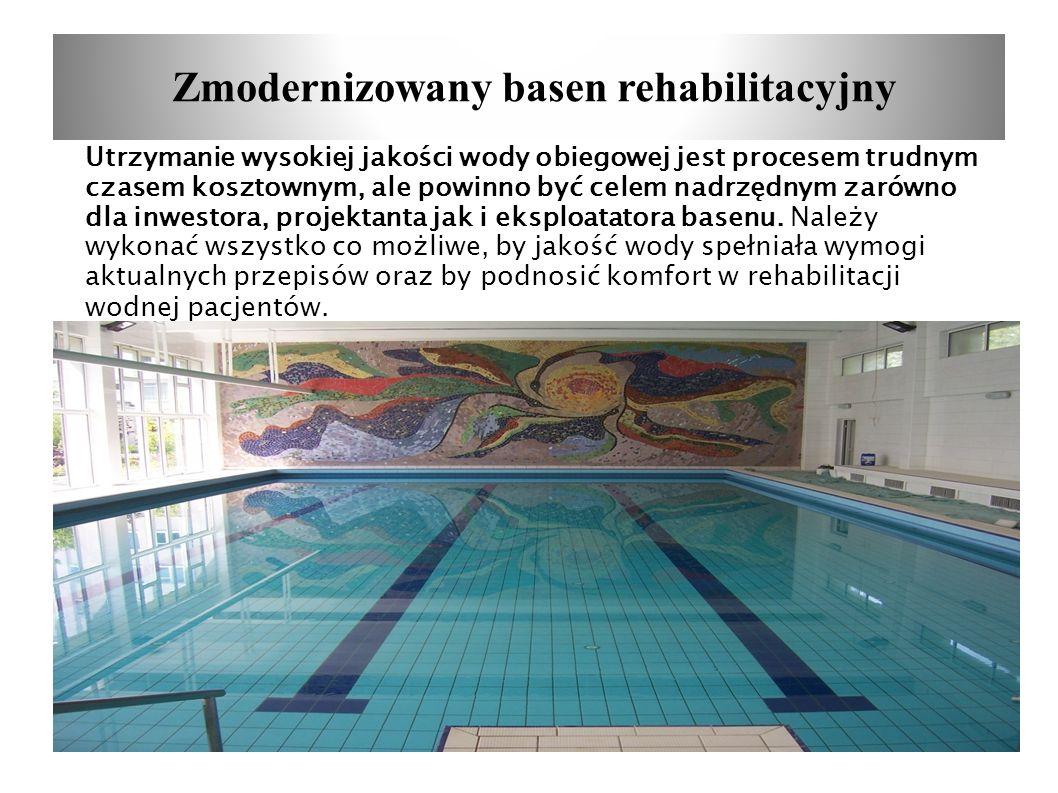 Zmodernizowany basen rehabilitacyjny