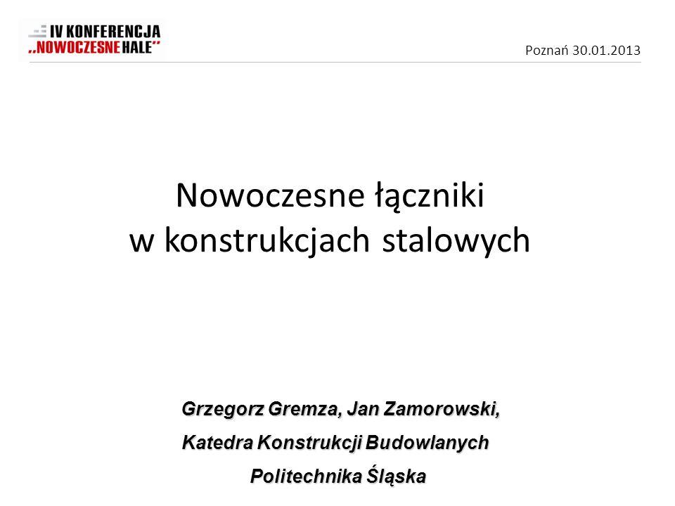 Grzegorz Gremza, Jan Zamorowski, Katedra Konstrukcji Budowlanych
