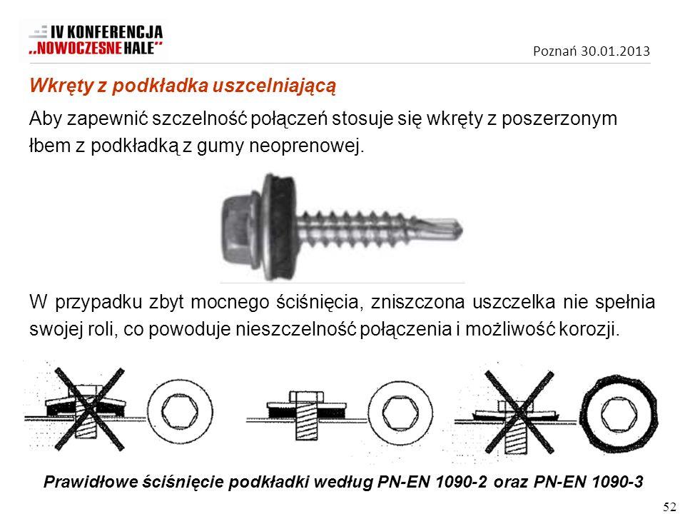 Prawidłowe ściśnięcie podkładki według PN-EN 1090-2 oraz PN-EN 1090-3