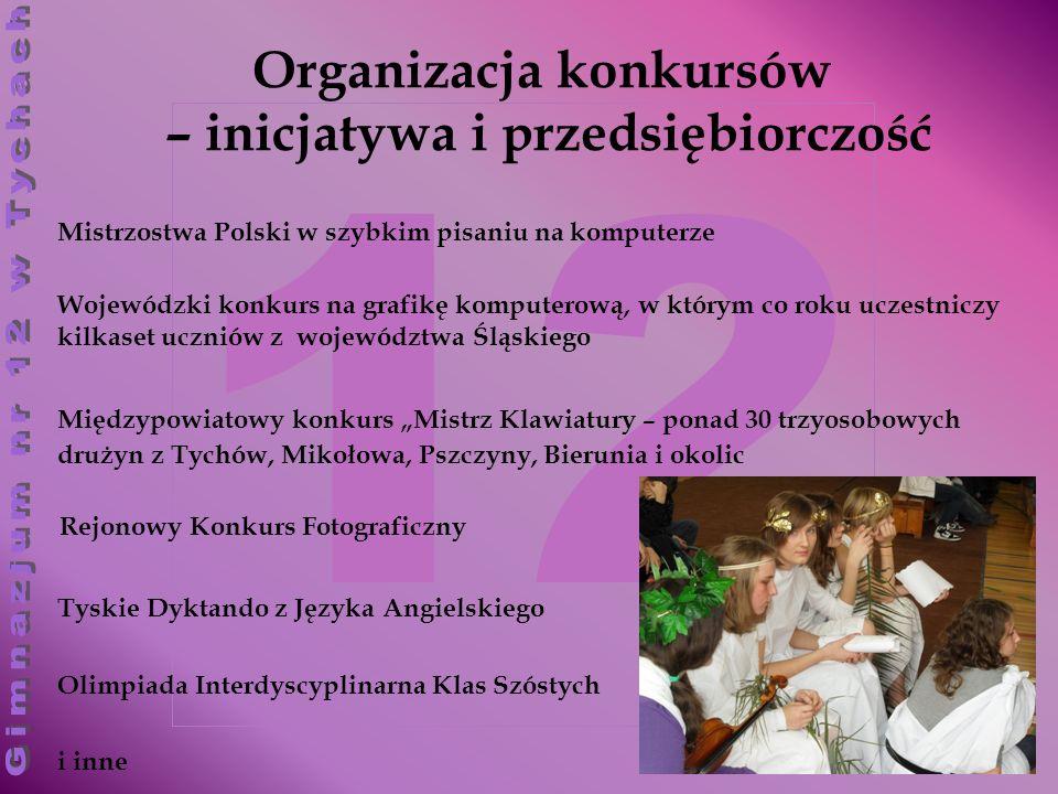 Organizacja konkursów – inicjatywa i przedsiębiorczość