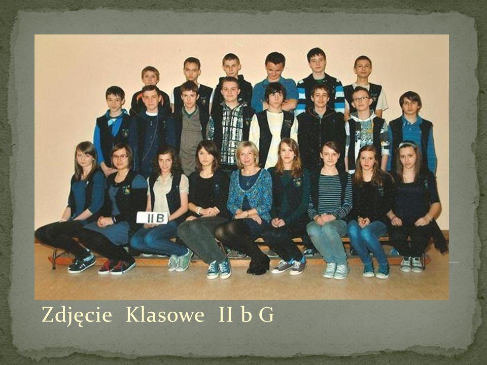 Zdjęcie Klasowe II b G