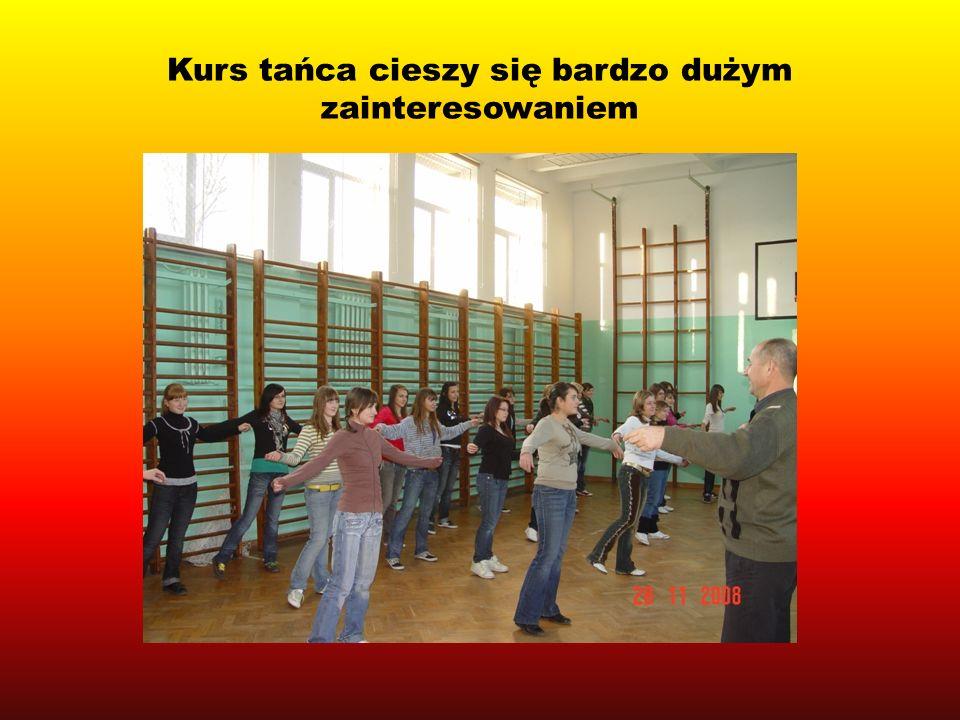 Kurs tańca cieszy się bardzo dużym zainteresowaniem