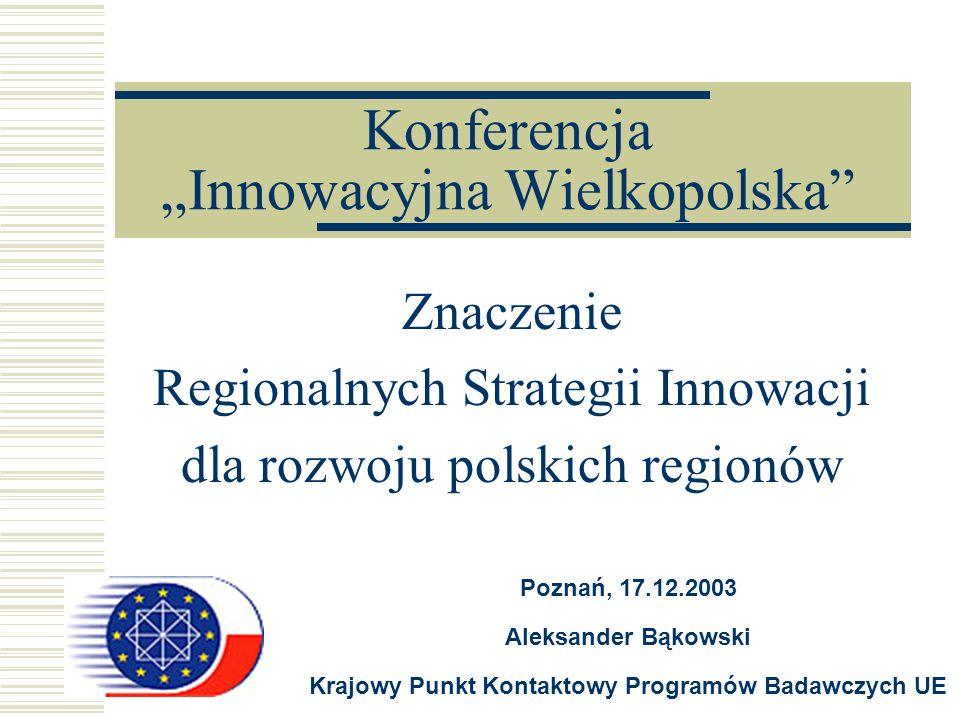 """Konferencja """"Innowacyjna Wielkopolska"""
