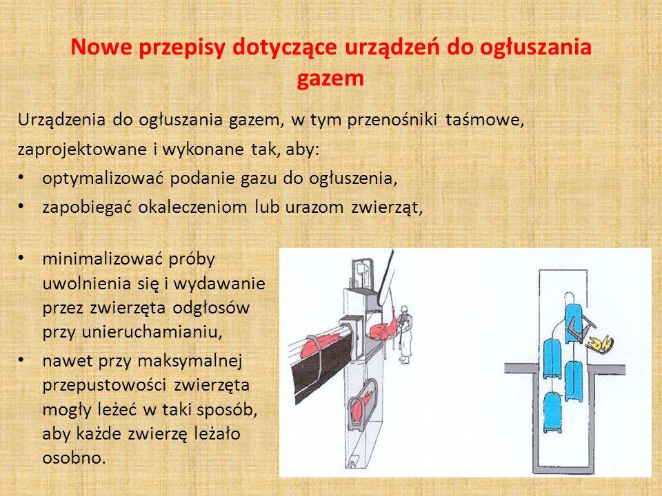 Nowe przepisy dotyczące urządzeń do ogłuszania gazem