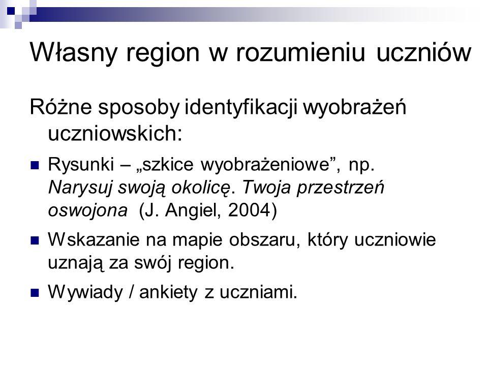 Własny region w rozumieniu uczniów