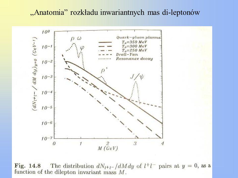 """""""Anatomia rozkładu inwariantnych mas di-leptonów"""