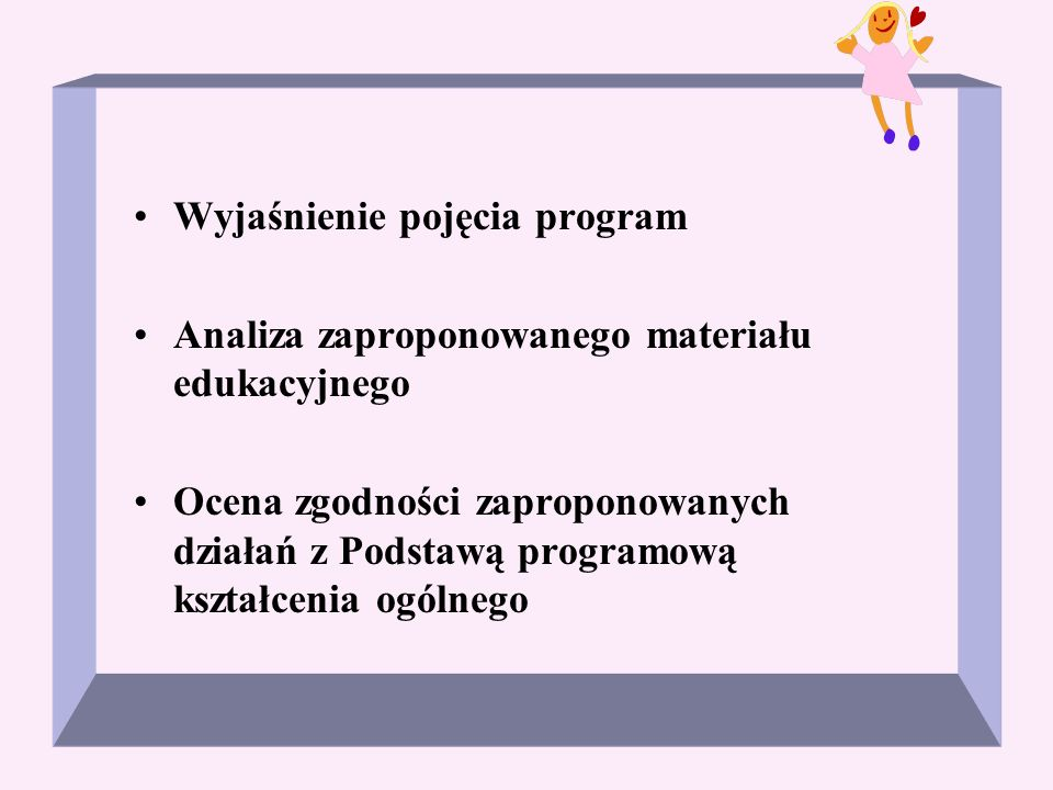 Wyjaśnienie pojęcia program