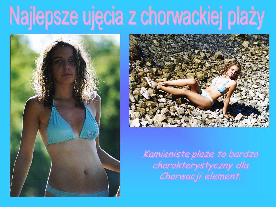Najlepsze ujęcia z chorwackiej plaży