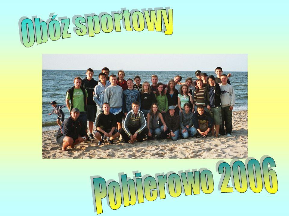 Obóz sportowy Pobierowo 2006